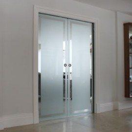 Porta Scorrevole in Vetro Roma - Vetreria Roma 348.2642835